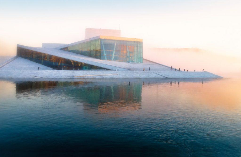 Edificio artístico de Oslo